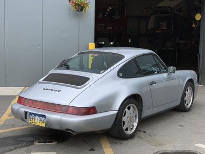 1991 Porsche 911 C4 Cabriolet